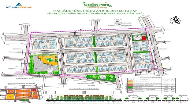Khu đô thị Green Park Cẩm Phả - đất nền du lịch Quảng Ninh