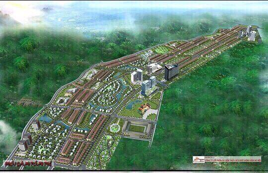 Đường Bắc Sơn kéo dài - MIA FOREST Thái Nguyên